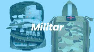 botiquín de primeros auxilios militar