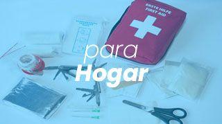 botiquín de primeros auxilios para hogar
