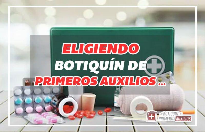 mejores botiquines de primeros auxilios